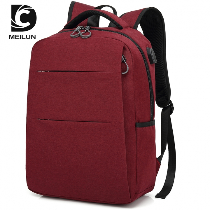 Vogue anti scraping, anti grinding waterproof and simple double shoulder  bag Red 26*16*42