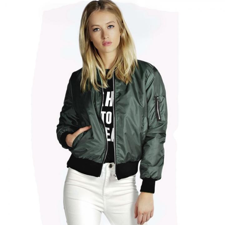 Women Ladies Fashion Coat Spring Autumn Casual Long Sleeve Lapel Collar Jacket green s