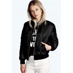 Women Ladies Fashion Coat Spring Autumn Casual Long Sleeve Lapel Collar Jacket black s