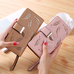 2018 New Wallet Female Long Zipper Fashion Wallet Large-capacity Clutch Bag blue one size