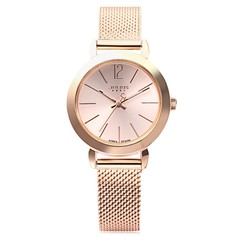 Julius JA - 732 Women Quartz Watch Stainless Steel Net Band Luminous Pointer Female Wristwatch