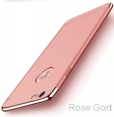 5XIAOHUO Hot sale for Iphone 7 6 6S 5 5S case Cover Coverage Removable 3 In 1 Fundas Iphone 7 8 Plus rose gold iphone 5/5s case
