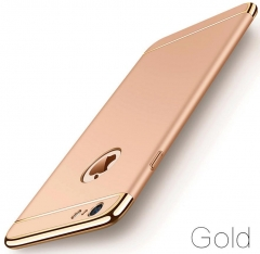 5XIAOHUO Hot sale for Iphone 7 6 6S 5 5S case Cover Coverage Removable 3 In 1 Fundas Iphone 7 8 Plus gold iphone 5/5s case