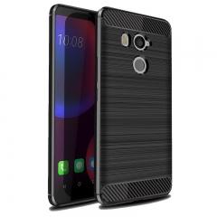 5XIAOHUO HTC U11 Eyes Drawing case for Silica gel HTC U11 Eyes phone case gray HTC U11 Eyes
