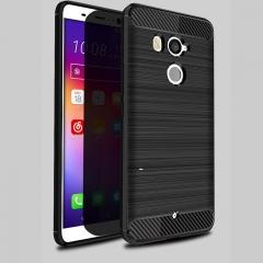 5XIAOHUO HTC U11 plus phone case Brushed TPU Silica gel for Falling soft HTC  U11 plus case gray HTC U11 plus