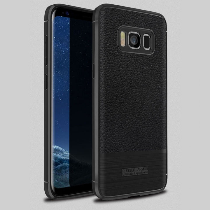 5XIAOHUO Samsung Galaxy S8 Plus phone case TPU Silica gel Falling for Samsung Skin pattern soft case gray samsung s8 plus
