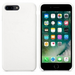 5XIAOHUO iphone 6/6s/7/8Liquid state Silica gel for iphone 7/7plus 6plus Hard case white iphone 6/6s case