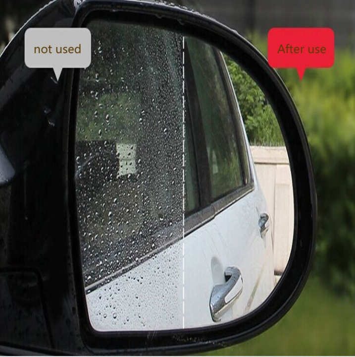 Automotive Rearview mirror waterproof and antifogging film Rain proof water film reversing