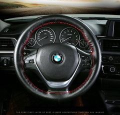 Automotive Interior Accessories Leather hand sewing steering wheel cover