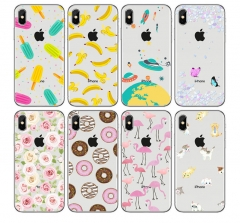 5XIAOHUO for iphone 5 6 6plus 7 7plus case Cartoon donut dessert phone casepainted gift #1 iphone 6 6s case