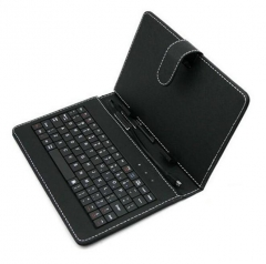 7 inch 8 inch 9 inch 9.7 inch 10 inch tablet computer keyboard leather case black 8 inch keyboard