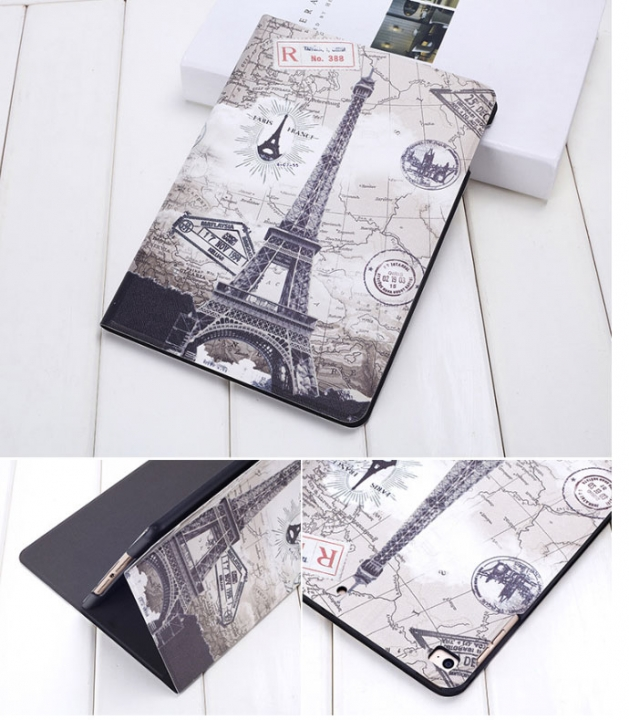 2018 new ipad56 tablet case 9.7 inch leather case air2 shell 10.5 cartoon 1 2017 10.5inch