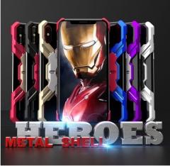5XIAOHUO Creative iphoneXR case League of Legends Anti-fall case iphone XS Max Metal balck red iphone 6 6s case