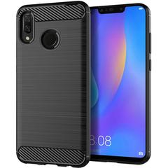 5XIAOHUO Huawei Y9 2019 / Enjoy 9 Plus Case Soft TPU Shock Proof Phone Cover Case black huawei Y9 2019