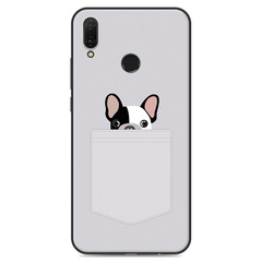 5XIAOHUO For Huawei Y9 2019 Case Cartoon Printing Soft Back Cover Shockproof Phone Casing #1 huawei y9 2019