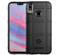 5XIAOHUO full Coverage Shockproof TPU Case for Huawei Y9 (2019) black huawei Y9 2019