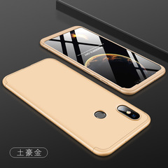 5XIAOHUO Full Coverage Phone Case xiaomi redmi 6 S2 6A Ultra-thin Hard Casing Shockproof Back Cover gold xiaomi  max2