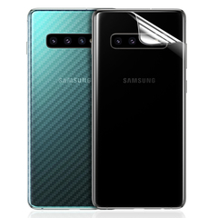 5XIAOHUO For Samsung Rear Protector 3D Carbon Fiber Back Cover Protective Film translucent samsung S7edge