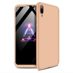 5XIAOHUO For huawei Y7Prime 2019 Case 360 Degree Full Body Hard Cover Shockproof Case gold huawei y7 prime 2019