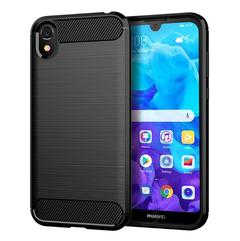 5XIAOHUO New Arrival for huawei Y5 2019 TPU case Brushed drop phone case black huawei y5 2019