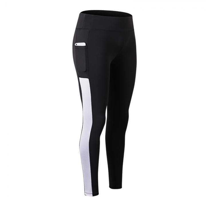 cba11684fb239 2018 new sexy girl pocket gym pants yoga pants compression pants fitness  tights2088 black and white
