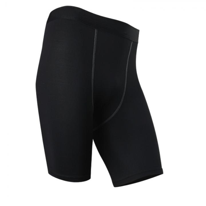 Men Soccer Running Compression Jersey Camiseta De Baloncesto Crossfit Yoga Running Shorts1004 black M