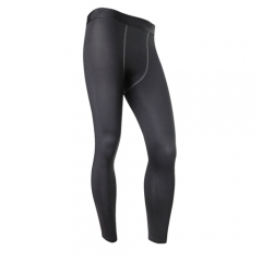 Signs Customized Quick Dry Compression Pants Polyester Tights Yoga Pants Men's Fitness Tights1020 black m