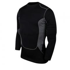 Tank Knitwear Compression Fitness T-Shirt Slim Set Sportswear Suits Men's Shirts black s