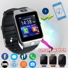 Smart Watch With Camera Bluetooth Wrist Watch SIM Card Smartwatch For IOS&Android black normal