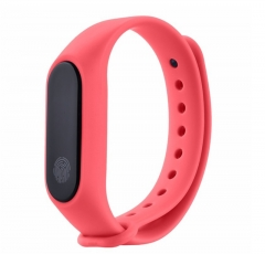 M2 smart bracelet waterproof bracelet outdoor sports fitness pedometer with heart rate sleep monitor rose red normal