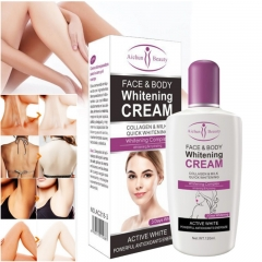 Beauty Face & Body Whitening Cream For Dark Skin Bleaching Lotion 120ML as show