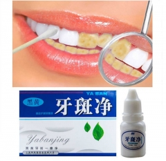 Teeth Whitening Quick Effect to Yellow Dental Plaque Dental Tattoo Black Stained Toothpaste Liquid white