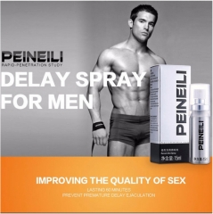 100% Real Photo PEINEILI Male Delay Spray 60 Minutes Long Delay Ejaculatio Enlargement sex Products as show 15ml