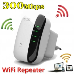 300Mbps 2.4GHz WiFi Repeater Wireless Router Signal Booster Extender Amplifier UK 3 Pin Plug