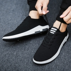 Fashion Mens Running Shoes Breathable Outdoor Walking Sport Shoes  Man Athletic Sport Sneakers shoes black 39