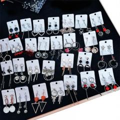 1 Pair Earrings Fashion Hoop Dangle Earrings Ear Studs for Charming Women Girls Random delivery one size