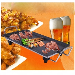 Stylish electric barbecue 1800W home smokeless barbecue as the picture