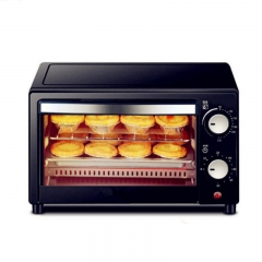 Mini Electric Oven - 12L Quick Heat Oven in 230°C Oven with Timer Rack and Baking Tray as the picture