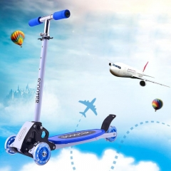 Children's Fashion Scooter Toy Outdoor Sports Toy Vehicle blue one size