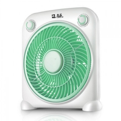 10-inch desk fan 40W 3-speed setting Timer function - suitable for home or office use random color