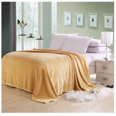 Pure color blanket coral fleece as picture 230*220