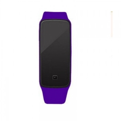 LED watch fashion sports digital watch boy girl Smart Watches table purple as picture