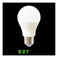 E27 screw bulbs 5W , daylight white, 5W LED , LED bulb, energy saving bulb as picture one sizeone size 9w