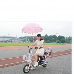 Bicycle must-have umbrella sun umbrella stand bicycle and electric car