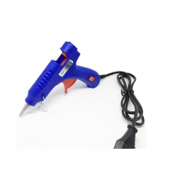 Hot Glue Gun, 20W Mini Hot Glue Gun Blue Fast Heating for DIY Craft Projects and Home Quick Repairs as picture one size