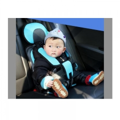 Car Safety Seat Protector Baby Child Car Safety Booster Seat Portable Cover Cushion Baby Harness sky blue as picture