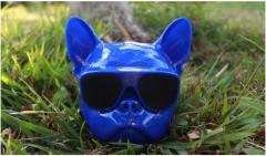 Aero bull dog wireless bluetooth speaker blue 13.1*13.5*11cm