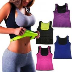 2018 Women Hot Neoprene Body Shapers Slimming Waist Slim Sportswear Vest Underbust Plus Black S