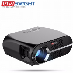 Android Projector Full HD 3200 Lumen 1080P WIFI Bluetooth LED LCD Home Theater Cinema black android 6.0