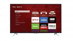 TCL Ultra HD LED Display Smart Television - Black, 43 Inch TV black 43
